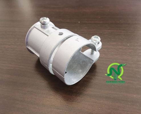 Đầu nối ống ruột gà thép với Ống thép luồn dây điện